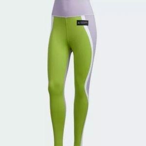 Adidas Primeknit Fine High-Waist Tights Purple L